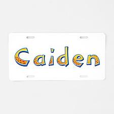 Caiden Giraffe Aluminum License Plate