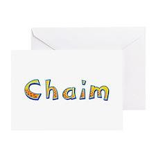 Chaim Giraffe Greeting Card