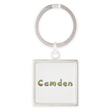 Camden Giraffe Square Keychain