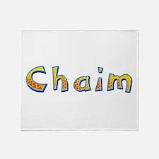 Chaim Giraffe Throw Blanket