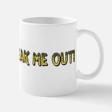 Clowns Freak Me Out Mug
