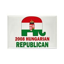 Hungarian Republican Rectangle Magnet