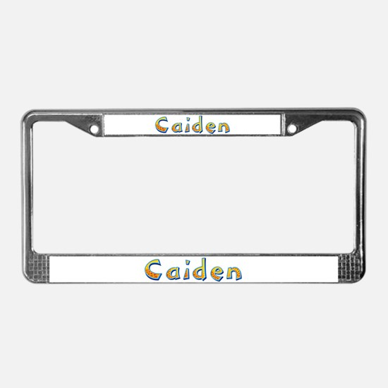 Caiden Giraffe License Plate Frame