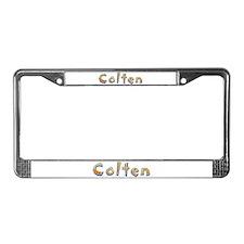 Colten Giraffe License Plate Frame