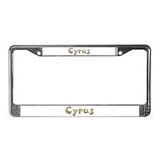 Cyrus Giraffe License Plate Frame