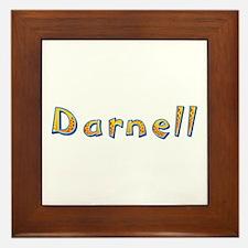 Darnell Giraffe Framed Tile