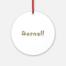 Darnell Giraffe Round Ornament