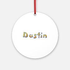 Dustin Giraffe Round Ornament