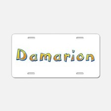 Damarion Giraffe Aluminum License Plate