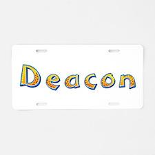 Deacon Giraffe Aluminum License Plate