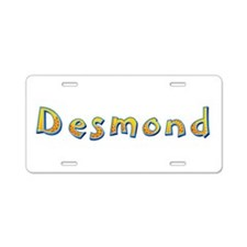 Desmond Giraffe Aluminum License Plate
