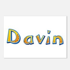 Davin Giraffe Postcards 8 Pack