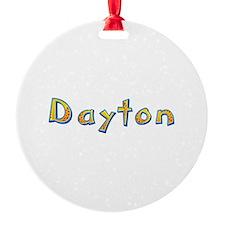 Dayton Giraffe Ornament