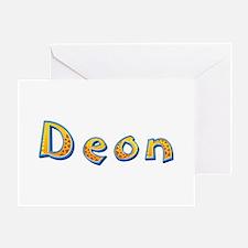 Deon Giraffe Greeting Card