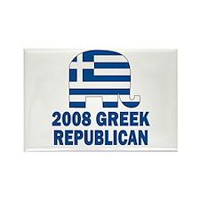 Greek Republican Rectangle Magnet