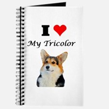 I love my Tricolor Corgi Journal