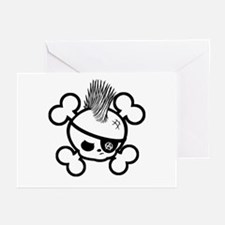 AnarKid-bw Greeting Cards (Pk of 10)