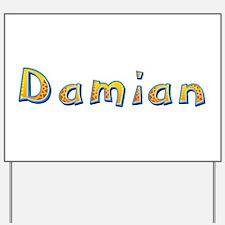 Damian Giraffe Yard Sign