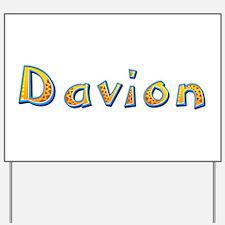 Davion Giraffe Yard Sign