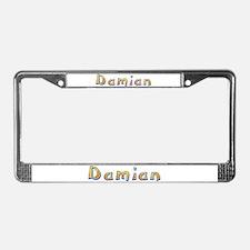 Damian Giraffe License Plate Frame