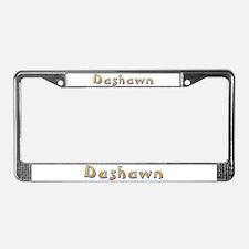 Dashawn Giraffe License Plate Frame