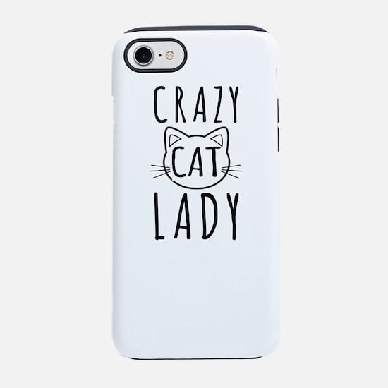 Crazy Cat Lady iPhone 7 Tough Case