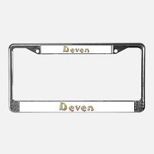 Deven Giraffe License Plate Frame
