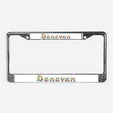 Donovan Giraffe License Plate Frame