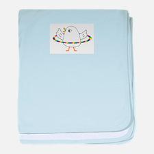 Saturn baby blanket