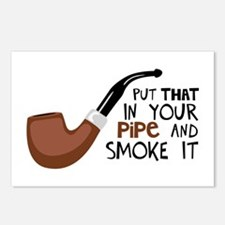 Put That In Your Pipe And Smoke It Postcards (Pack