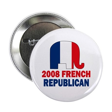 "French Republican 2.25"" Button (10 pack)"