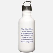 NOBILITY, HONOR, BETRAYAL Water Bottle