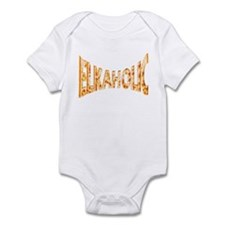 Elkaholic Logo Infant Bodysuit