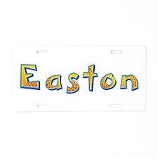 Easton Giraffe Aluminum License Plate