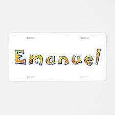 Emanuel Giraffe Aluminum License Plate