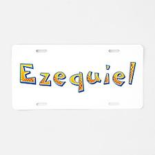 Ezequiel Giraffe Aluminum License Plate