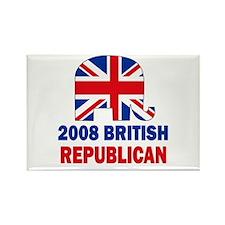 British Republican Rectangle Magnet