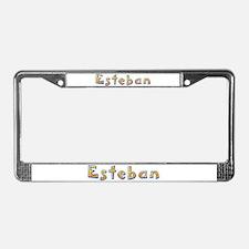 Esteban Giraffe License Plate Frame