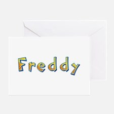 Freddy Giraffe Greeting Card