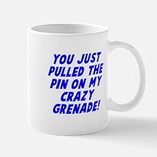 Pin on my crazy grenade Mug