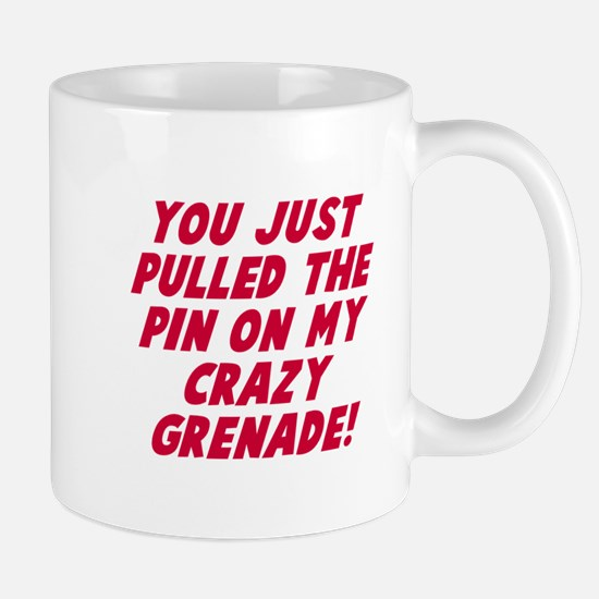 Pin on my crazy grenade Mug
