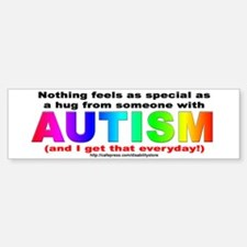 AUTISM Hug Bumper Car Car Sticker