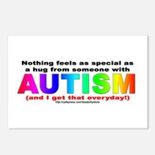 AUTISM Hug Postcards (Package of 8)