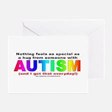 AUTISM Hug Greeting Cards (Pk of 10)
