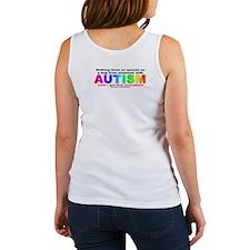AUTISM Hug (backprint) Women's Tank Top