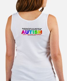 AUTISM Hug (backprint) Women's Tank Top