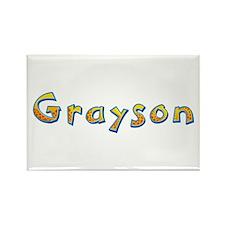 Grayson Giraffe Rectangle Magnet