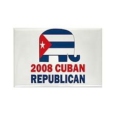 Cuban Republican Rectangle Magnet