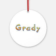 Grady Giraffe Round Ornament