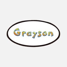 Grayson Giraffe Patch